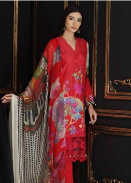Charizma Embroidered Swiss Voile Unstitched 3 Piece Suit CRZ19-S4 36 - Festive Collection