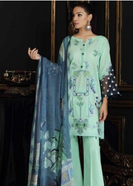 Charizma Embroidered Swiss Voile Unstitched 3 Piece Suit CRZ19-S4 45 - Festive Collection