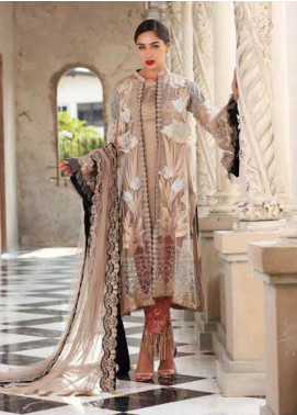 Chimmer by Charizma Embroidered Chiffon Unstitched 3 Piece Suit CH20CRZ 04 - Festive Collection