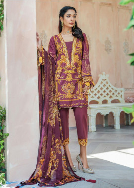 Gulaal Embroidered Lawn Unstitched 3 Piece Suit GL20CL 01 - Spring / Summer Collection