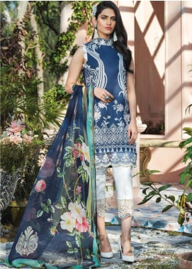 Gulaal Embroidered Lawn Unstitched 3 Piece Suit GL20CL 02 - Spring / Summer Collection