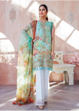 Gulaal Embroidered Lawn Unstitched 3 Piece Suit GL20CL 04 - Spring / Summer Collection