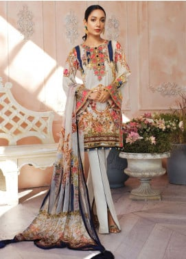 Gulaal Embroidered Lawn Unstitched 3 Piece Suit GL20CL 05 - Spring / Summer Collection
