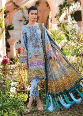 Gulaal Embroidered Lawn Unstitched 3 Piece Suit GL20CL 06 - Spring / Summer Collection