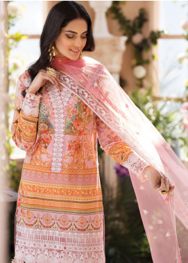 Gulaal Embroidered Lawn Unstitched 3 Piece Suit GL20CL 07 - Spring / Summer Collection