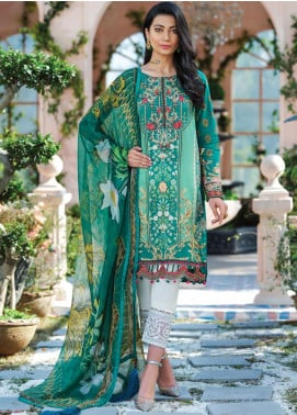 Gulaal Embroidered Lawn Unstitched 3 Piece Suit GL20CL 08 - Spring / Summer Collection