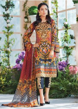 Gulaal Embroidered Lawn Unstitched 3 Piece Suit GL20CL 09 - Spring / Summer Collection