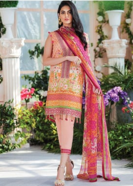 Gulaal Embroidered Lawn Unstitched 3 Piece Suit GL20CL 10 - Spring / Summer Collection