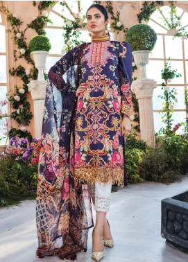 Gulaal Embroidered Lawn Unstitched 3 Piece Suit GL20CL 11 - Spring / Summer Collection
