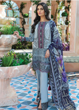 Gulaal Embroidered Lawn Unstitched 3 Piece Suit GL20CL 12 - Spring / Summer Collection