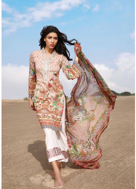 Embroidered Lawn Unstitched 3 Piece Suit CL17L 03