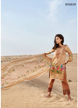 Embroidered Lawn Unstitched 3 Piece Suit CL17L 04