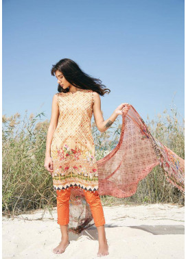Embroidered Lawn Unstitched 3 Piece Suit CL17L 05
