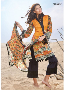 Embroidered Lawn Unstitched 3 Piece Suit CL17L 07