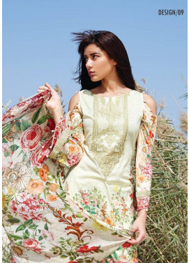 Embroidered Lawn Unstitched 3 Piece Suit CL17L 09