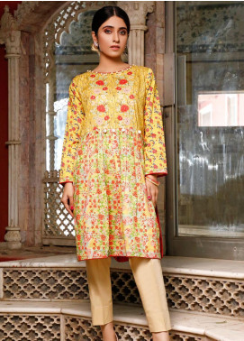 Zaibunnisa Printed Lawn Stitched Kurtis ZN20CL 04-Dreamy Vines