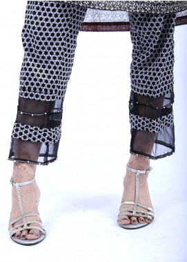 Change Embroidered  Stitched Trousers CLP126