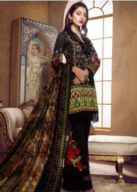 Coronation Embroidered Lawn Unstitched 3 Piece Suit CN18L 11 - Spring / Summer Collection