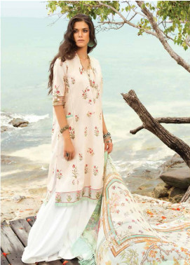 Coco By Zara Shahjahan Embroidered Lawn Unstitched 3 Piece Suit COC18L 10B - Eid Collection