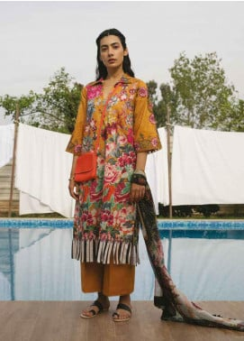 b570e999 Coco by Zara Shahjahan Embroidered Lawn Unstitched 3 Piece Suit COC19L 10B  - Spring / Summer