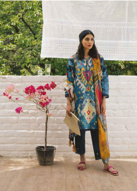 Coco by Zara Shahjahan Embroidered Lawn Unstitched 3 Piece Suit COC19L 1A - Spring / Summer Collection