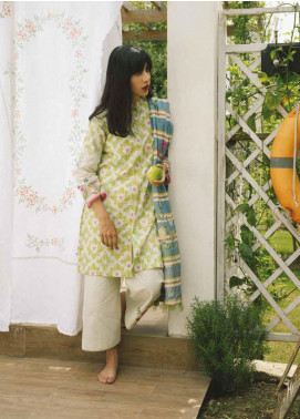 Coco by Zara Shahjahan Embroidered Lawn Unstitched 3 Piece Suit COC19L 2A - Spring / Summer Collection