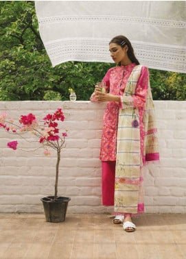 Coco by Zara Shahjahan Embroidered Lawn Unstitched 3 Piece Suit COC19L 2B - Spring / Summer Collection