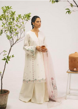 Coco by Zara Shahjahan Embroidered Lawn Unstitched 3 Piece Suit COC20SS 10A - Spring / Summer Collection