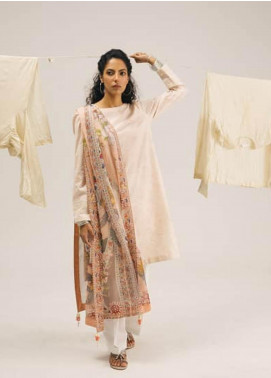 Coco by Zara Shahjahan Embroidered Lawn Unstitched 3 Piece Suit COC20SS 3B - Spring / Summer Collection