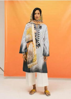 Coco by Zara Shahjahan Embroidered Lawn Unstitched 3 Piece Suit COC20SS 7A - Spring / Summer Collection