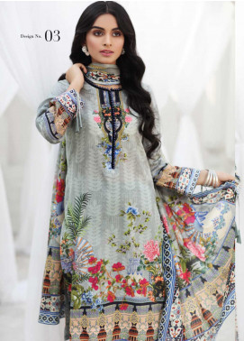 Coco by Al Zohaib Printed Lawn Unstitched 3 Piece Suit CO20AZ 3 - Summer Collection
