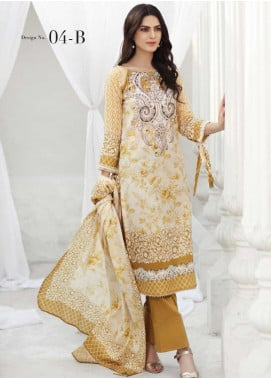 Coco by Al Zohaib Printed Lawn Unstitched 3 Piece Suit CO20AZ 4B - Summer Collection