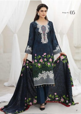Coco by Al Zohaib Printed Lawn Unstitched 3 Piece Suit CO20AZ 5 - Summer Collection