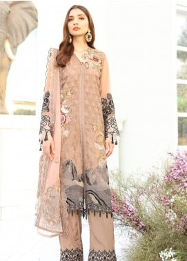 COIR Embroidered Chiffon Unstitched 3 Piece Suit CO19-C5 08 RECHERCHE - Luxury Collection