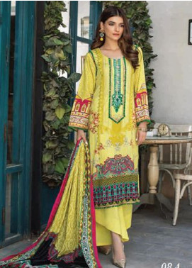 Colors by Al Zohaib Printed Lawn Unstitched 3 Piece Suit AZ20CL 08-A - Spring / Summer Collection