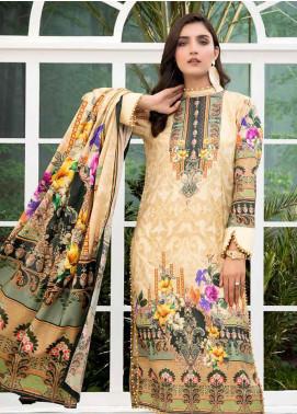 Colors by Al Zohaib Printed Lawn Unstitched 3 Piece Suit C20AZ 11 - Summer Collection