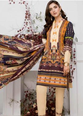 Colors by Al Zohaib Printed Lawn Unstitched 3 Piece Suit C20AZ 9 - Summer Collection