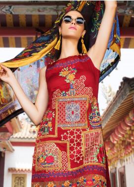 Coronation Embroidered Jacquard Unstitched 3 Piece Suit COR18E 07 - Festive Collection