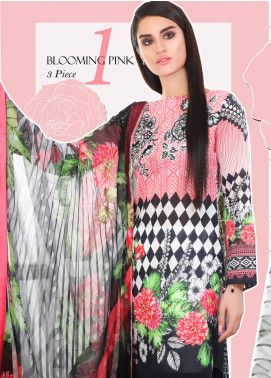 Coronation Embroidered Lawn Unstitched 3 Piece Suit COR18L 01 - Spring / Summer Collection