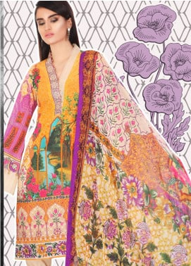 Coronation Embroidered Lawn Unstitched 3 Piece Suit COR18L 02 - Spring / Summer Collection
