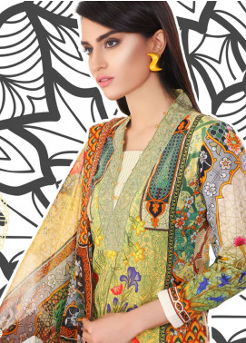 Coronation Embroidered Lawn Unstitched 3 Piece Suit COR18L 09 - Spring / Summer Collection
