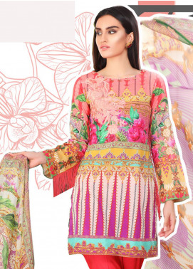 Coronation Embroidered Lawn Unstitched 3 Piece Suit COR18L 10 - Spring / Summer Collection