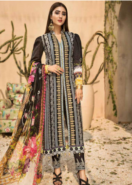 Coral by Jahanara Embroidered Lawn Unstitched 3 Piece Suit JN20CL-02 - Summer Collection