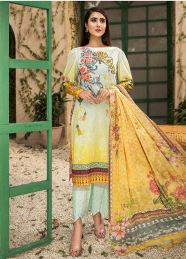 Coral by Jahanara Embroidered Lawn Unstitched 3 Piece Suit JN20CL-06 - Summer Collection