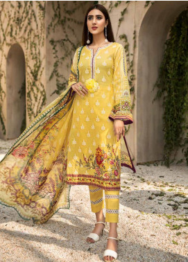 Coral by Jahanara Embroidered Lawn Unstitched 3 Piece Suit JN20CL-07 - Summer Collection