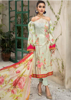 Coral by Jahanara Embroidered Lawn Unstitched 3 Piece Suit JN20CL-08 - Summer Collection