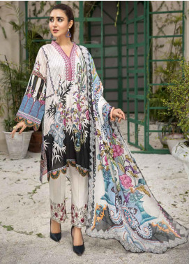 Coral by Jahanara Embroidered Lawn Unstitched 3 Piece Suit JN20CL-10 - Summer Collection