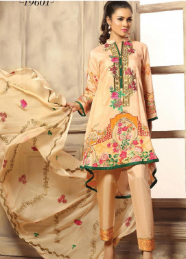 Creaze Embroidered Viscose Unstitched 3 Piece Suit CRE20-VC 19601 - Winter Collection