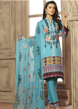Creaze Embroidered Viscose Unstitched 3 Piece Suit CRE20-VC 19603 - Winter Collection