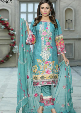 Creaze Embroidered Viscose Unstitched 3 Piece Suit CRE20-VC 19605 - Winter Collection